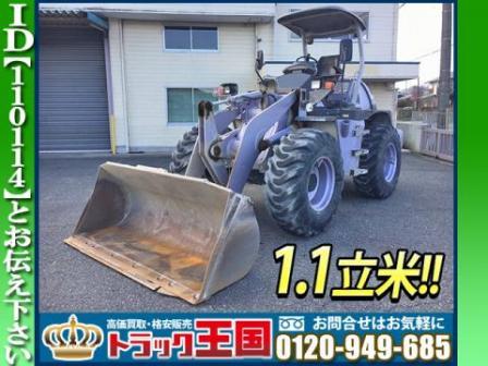 ★日立製ホイルローダー!!★バケット1.1立米!!★